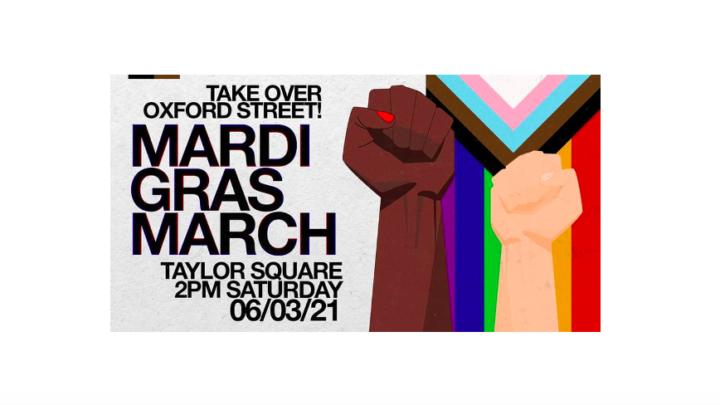 Mardi Gras March logo