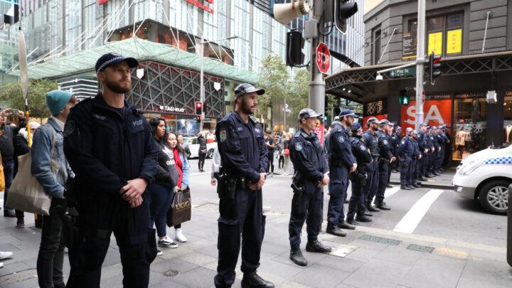 NSW Police Line