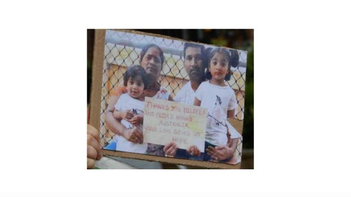Family from Biloela