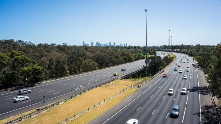 Freeway in Melbourne