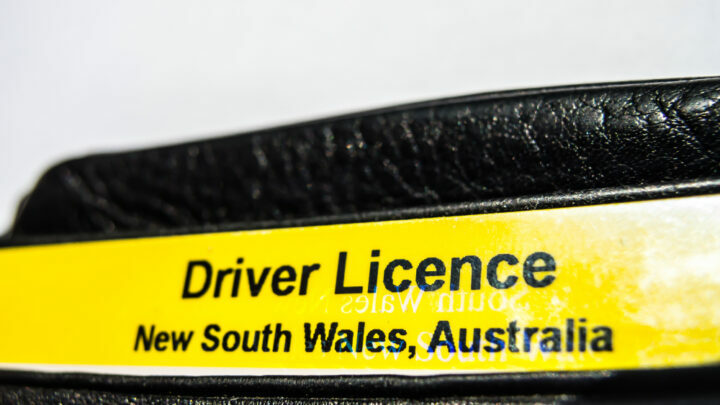 NSW drivers licence