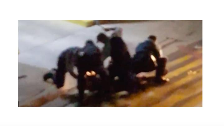 Police assault teenager