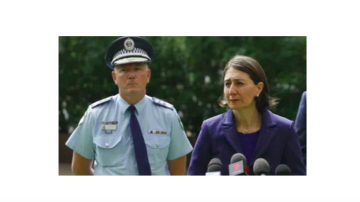 Police Fuller and Berejiklian