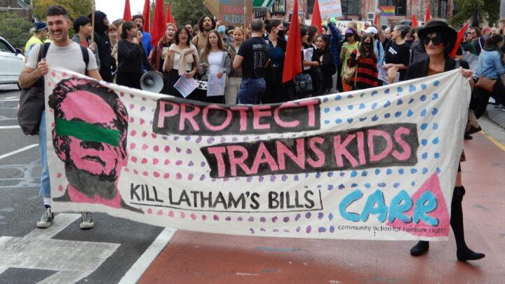 Latham's Transgender Bill