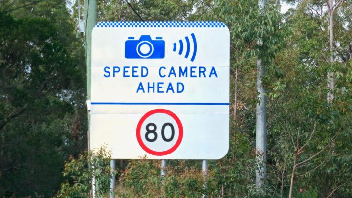 Speed camera ahead