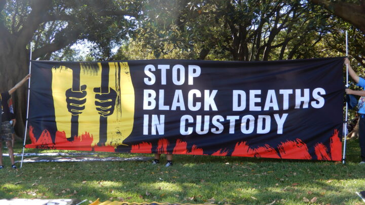 Black deaths in custody
