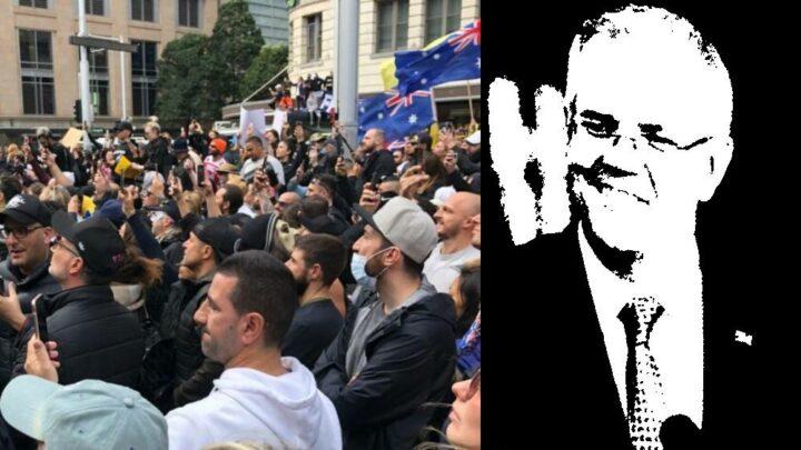 Morrison protest