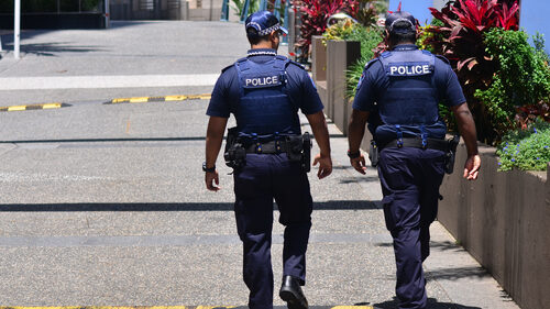 Queensland police officer