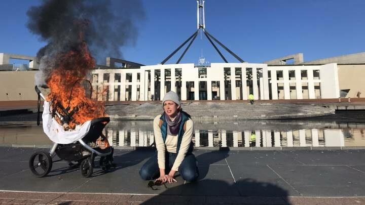 Fire at Parliament House