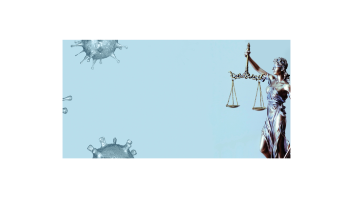 Lady Justice Covid