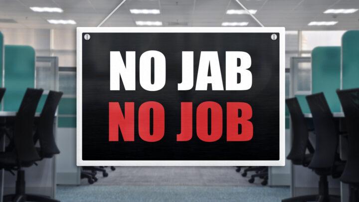 No jab, no job