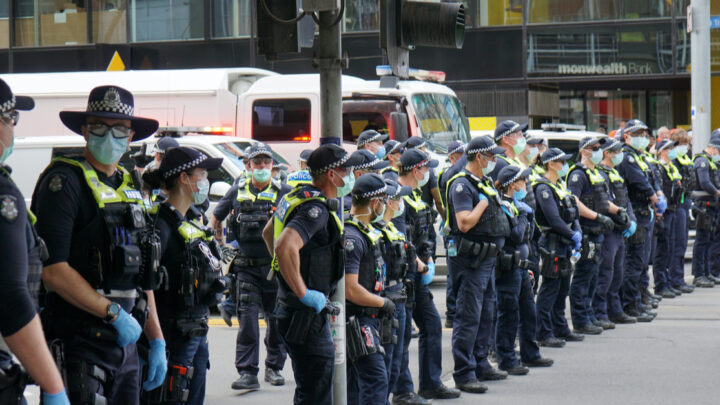 Several videos have emerged of police officers committing horrific assaults against protesters and other members of the public