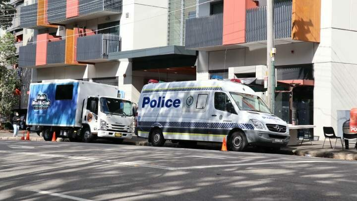 Apartment lockdown in NSW