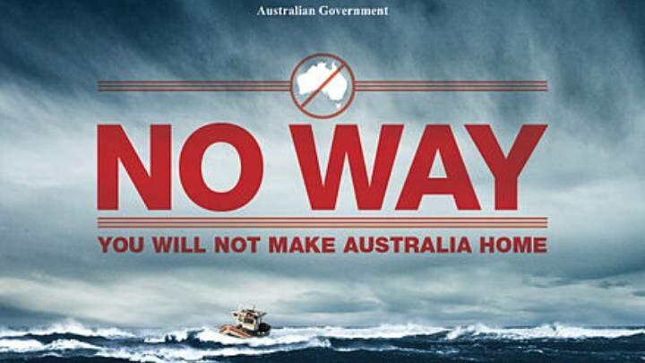 Nauru no way poster