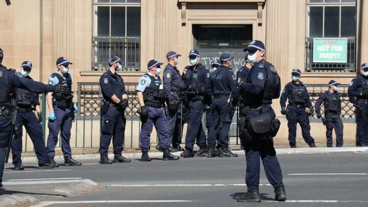 Sue police