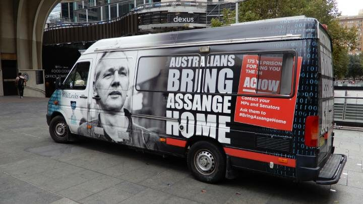 Trump administation and Assange